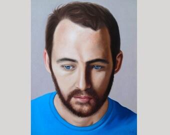 Custom Oil Painting Custom Oil Portrait Painting from Photo Custom Art Made in USA