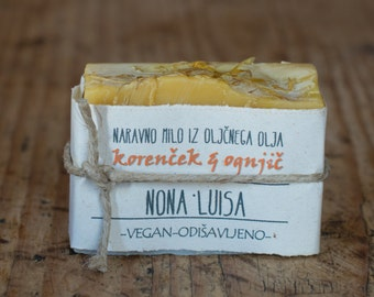 carrot&calendula NATURAL OLIVE OIL soap