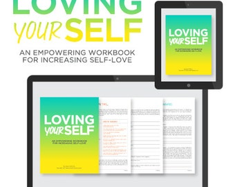 PRINTABLE Loving Your Self PDF Workbook