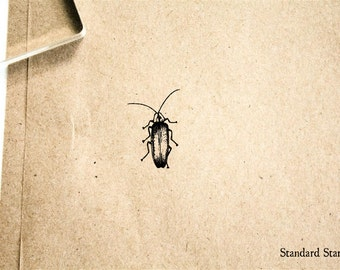 Firefly Rubber Stamp - 2 x 2 inches
