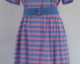 Vintage Short Sleeve Dress by Kay Windsor