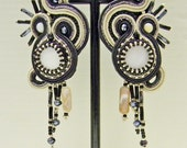 Soutache earrings LUNA