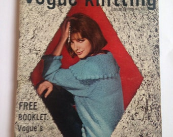 Vintage 1960 Vogue  Knitting Pattern Booklet Special Jubilee Edition No 60