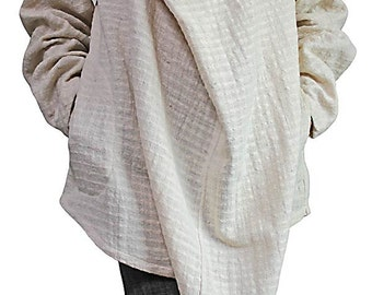 Hand Woven Cotton Nomad Tunic (BFS-097-02)