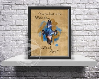 Firefly Inara Serra Serenity Poster Custom print poster - Choose Size, Quote, and Frame