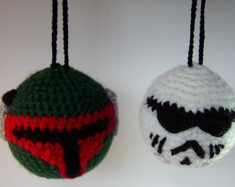 Star Wars inspired stormtrooper bauble