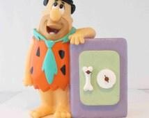 "Fred Flintstone Vinyl Figure Bank 1992 Vinyl Coin Bank 6.5"""