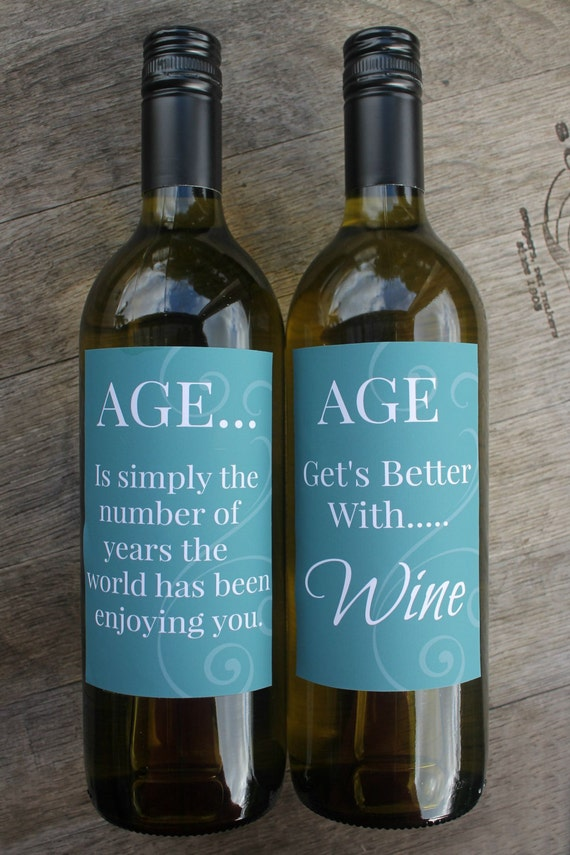 aged printable wine bottle labels by smart party planning catch my party