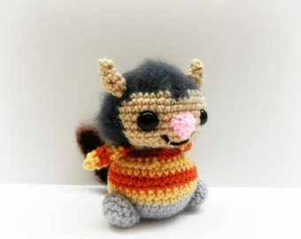 Crochet Carol Chibi from Where the Wild Things Are