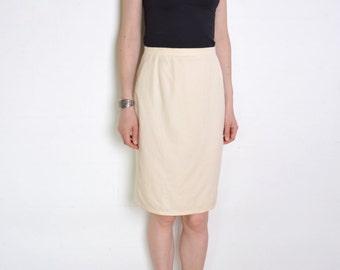 White wool skirt | Etsy