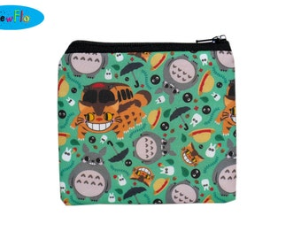 Studio Ghibli Coin Purse | Totoro Change Purse | Zip Bag