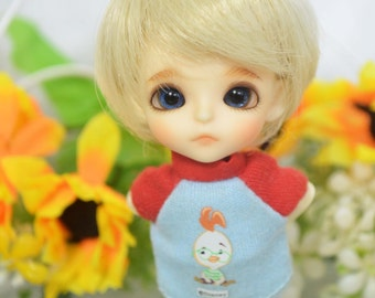 bjd doll boy wig W-3 (3 colors) 1/12 lati white fl pukipuki