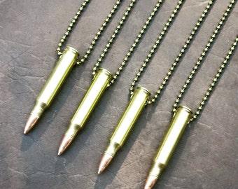 Bullet Necklace .223- Custom Handmade