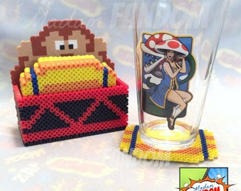 Video game coasters Etsy