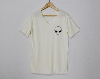 Alien Shirt Tshirt T-shirt Top Size S M L