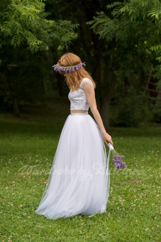 White Wedding Dress Meaning Dream : Bridal dream tulle skirt white wedding