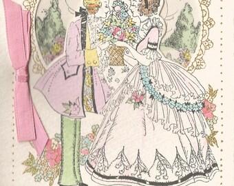 Vintage Art Deco Valentine Valentine's Day card sweetheart digital download printable image 300 dpi