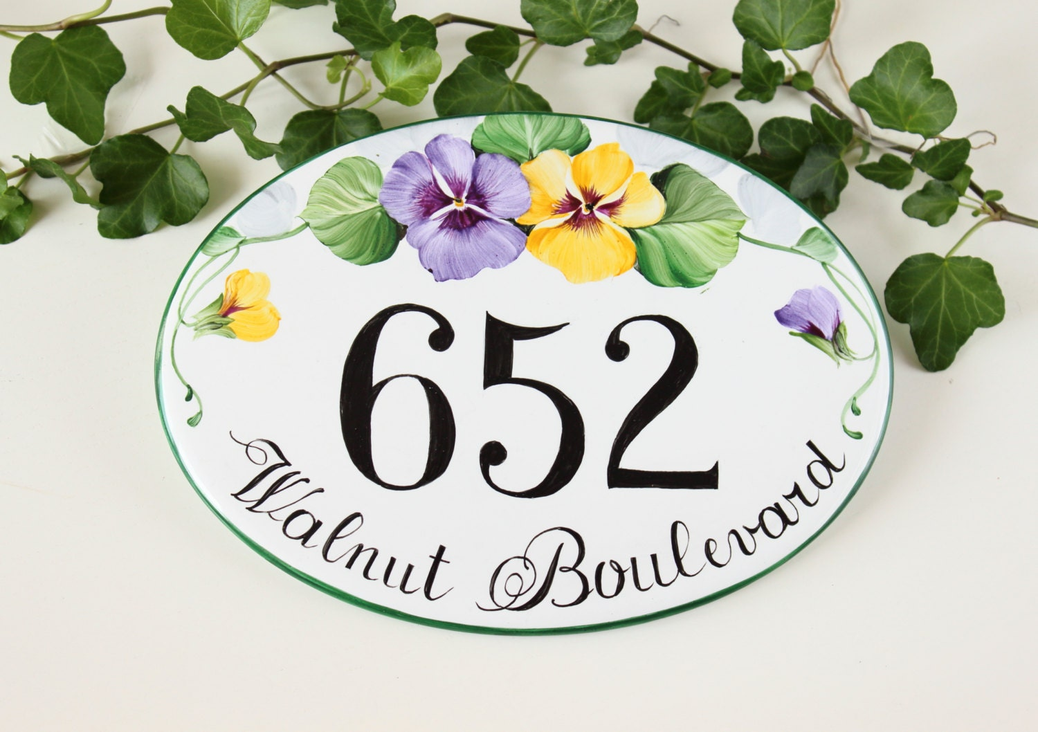partment Door Signs: Unique house numbers related items tsy. New ... - ^