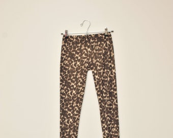 XS Leopard Leggings