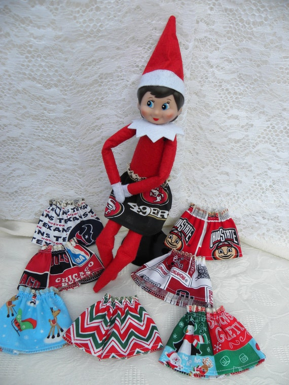 Elf On The Shelf Clothes Choose One Skirt For Your Favorite