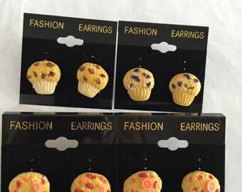 Muffin Earrings!!