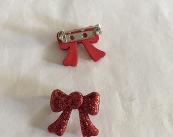 Pretty Bow Pins!