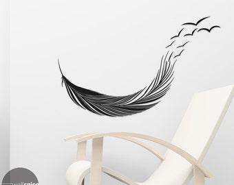 Birds Of A Feather Vinyl Wall Decal Sticker