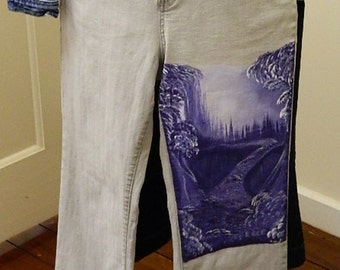Mystical Forest Jeans