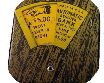 Lucky Dime Register Bank - Circa 1910