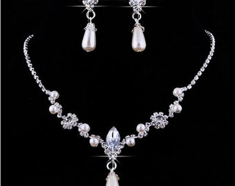 Bridal Jewelry Set - 2pcs
