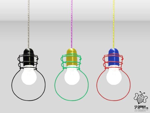 Lampade A Sospensione Ikea : Lampada a sospensione bulbo lampadario sagoma lampade a