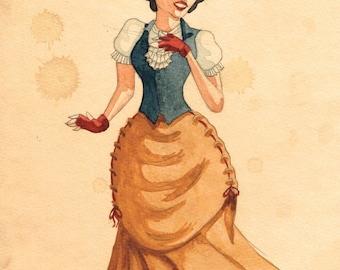 Steampunk Snow White - ORIGINAL 2/3