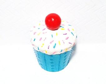 Cupcake Jewelry Box/ Gift Box / Favor Box/ Keepsake