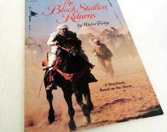 The Black Stallion Returns Storybook 1982