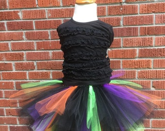 Adult Witch Tutu - Adult Witch Costume - Teen Witch Tutu - Adult Witch Skirt - Witch Costume - Teen Witch Costume - Adult Halloween Tutu