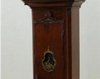 7646 Important Dutch Long Case Clock Stamped AJ Van Bergh A. Rotterdam