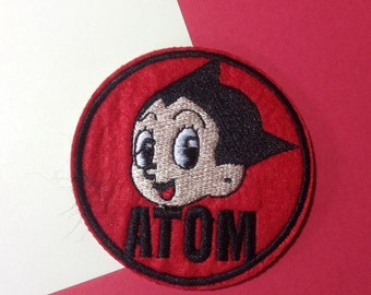 Iron on Sew on Patch:  Atom Boy