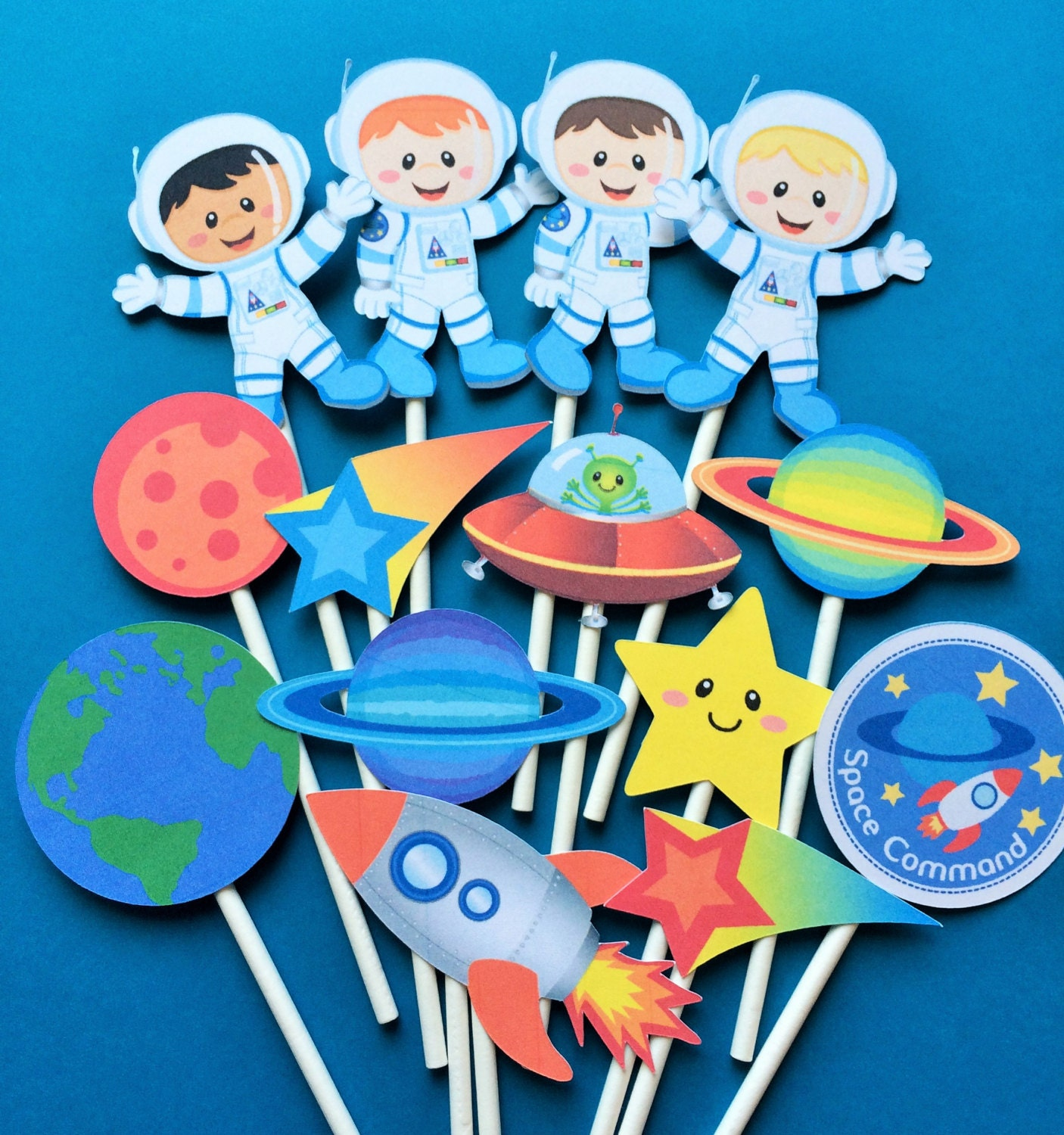 planets cake toppers-#37