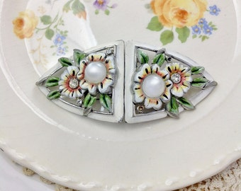 Signed Coro Duette Brooch