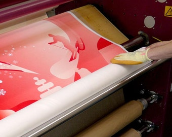 Custom Printed Fabric by-the-yard