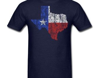 Men's Texas Lone Star T-Shirt Dallas Fort Worth Houston San Antonio Austin