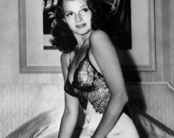Rita Hayworth Poster, Beautiful Iconic Actress