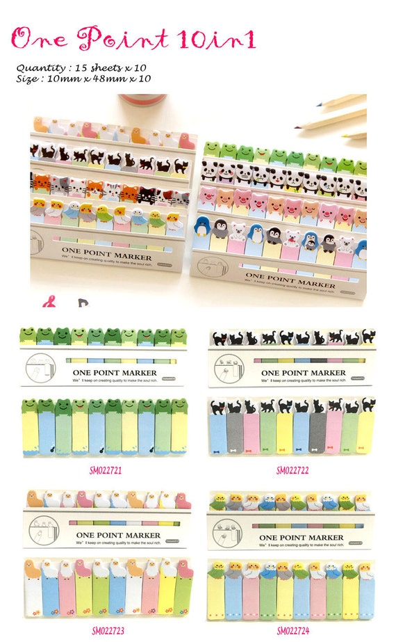 One Point 10in1 Post IT Notes Sticky Memo