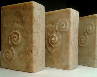 Rooibos Tea Soap, Tea Time Soap, Skin Friendly Soap, Unscented Soap, Red Bush Tea Soap, Detox Soap, Made in Ireland, Designer Soap