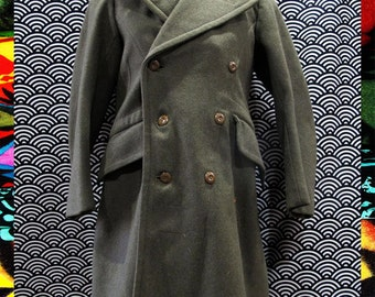 Vintage Australian Military Trench Coat