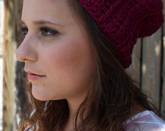 Solid Color Slouchy Hat / Beanie