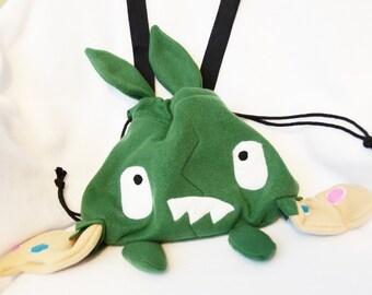 Pokemon Trubbish Purse Plush Bag Cosplay Drawstring Pouch