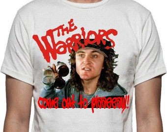 The Warriors Come Out To Play T-shirt - Cult 70's Gang Film, ECO FRIENDLY PRINT, S - 2XL, Various Colours