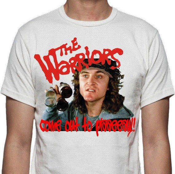 The Warriors Come Out To Play T-shirt Cult 70's Gang