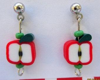 fried egg earrings miniature fried egg jewelry food. Black Bedroom Furniture Sets. Home Design Ideas